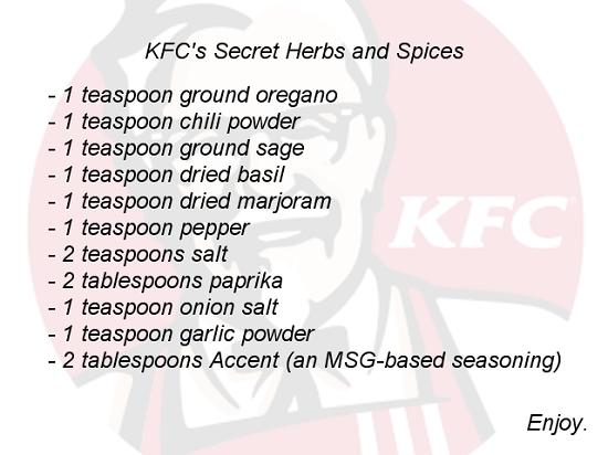 KFC-secret-recipe