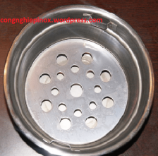Xô than inox - khay than bếp nướng than tại Hà Nội / giá bán bát than bếp nướng than hoa tại Hà Nội
