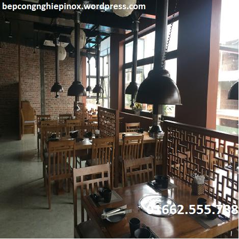 Giá bán chao đèn ống hút khói bếp nướng tại Nha Trang