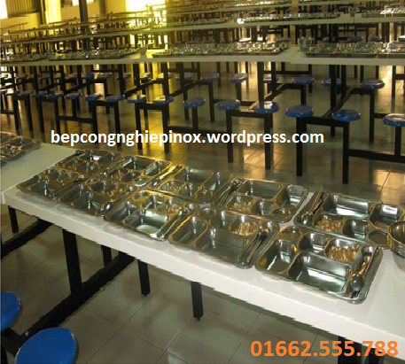khay ăn inox dùng cho công nhân nhà máy, xí nghiệp, cho học sinh, sinh viên, nhân viên văn phòng giá rẻ