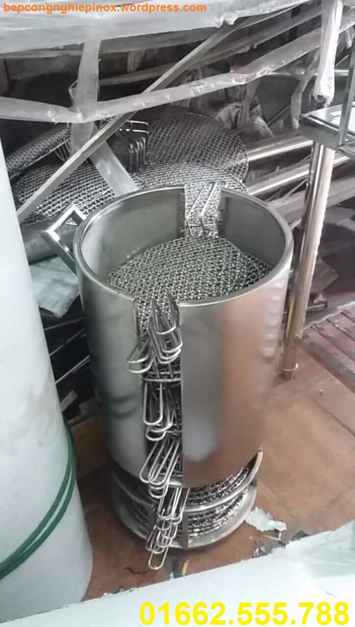 Bán lò ủ than hoa không khói( inox)/ xe đẩy vỉ nướng 2 tầng ( inox). giỏ đựng chậu than ( inox)... giá rẻ nhất tại Hà Nội
