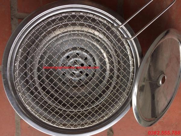 Bếp nướng than hoa ngoài trời / Giá bán bếp nướng than tại bàn tại Hà Nội
