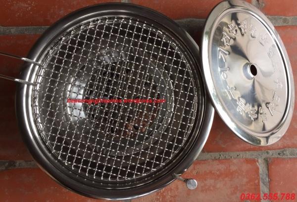 Bếp nướng than không khói hút dương giá rẻ tại Quảng Ninh