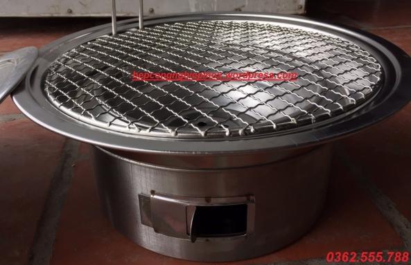 Bếp nướng than hoa âm bàn tại Hà Nội / giá bán bếp nướng than hoa âm bàn bình dân tại tphcm