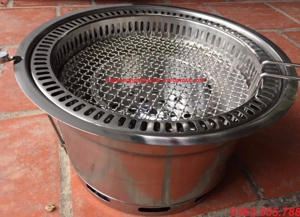 Bếp nướng than hoa hút âm tại Hà Nội / giá bán bếp nướng hút âm tại Hà Nội
