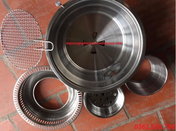 Bán bếp nướng than hoa âm nhà hàng giá rẻ taị Ninh Bình