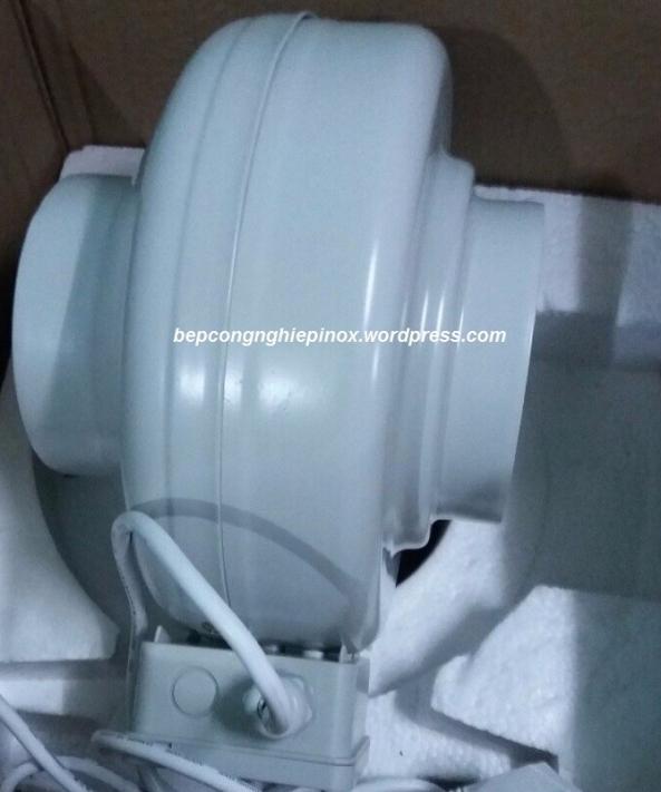 Quạt nối ống thông gió hút mùi nhà bếp d200 giá rẻ