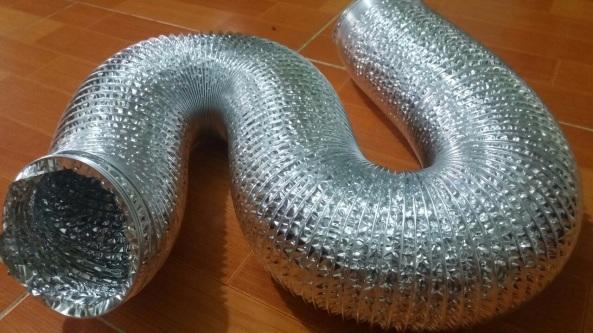 Nơi bán ống mềm chịu nhiệt giá rẻ nhất tại hà nội / ống gió mềm bạc hút khói mùi giá rẻ tại Hà Nội