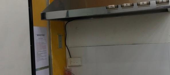 Quạt hút mùi nối ống DPT15-55B hút mùi bếp nhà hàng, quán ăn chiên xào nhiều
