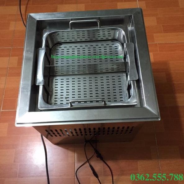 Bếp lẩu tự nâng Trung Hoa / Nồi lẩu thang máy