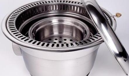 Giá bán bếp nướng than âm bàn hút âm tại