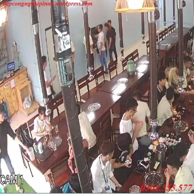 Hệ thống hút khói tại bàn nhà hàng lẩu nướng như thế nào là đạt?
