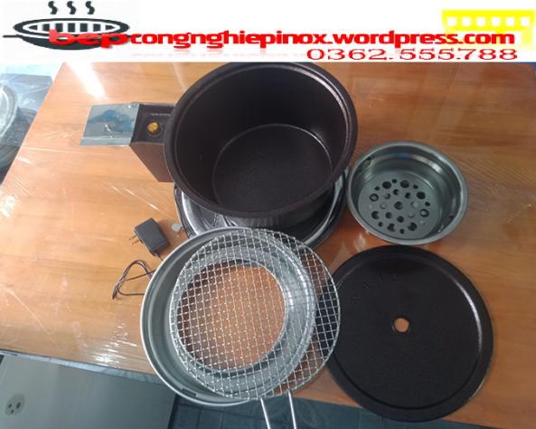 Giá bán bếp nướng than hoa có quạt thổi than tại Bắc Ninh